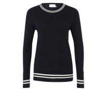 Feinstrick-Pullover 'Lia' blau