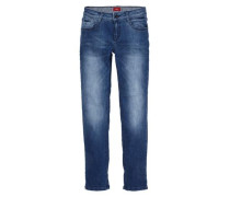 Seattle: Stretchige Bluejeans blau / hellblau