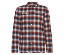 Hemd im Tartan-Design dunkelblau / rot / weiß