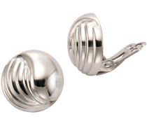 Paar Ohrclips silber