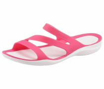 Pantolette 'Swiftwater Sandal' pink / weiß