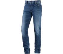 Vapour Straight Fit Jeans Herren blau