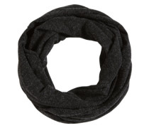 Schal 'wool mix snood' schwarzmeliert