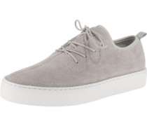 Sneakers Low taupe / weiß