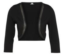 Bolerojacke aus Jersey schwarz