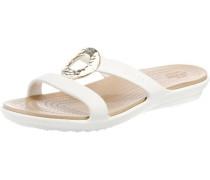 Pantolette 'Sanrah Hammered Met Sandal W'