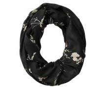 Schlauch-Schal beige / schwarz