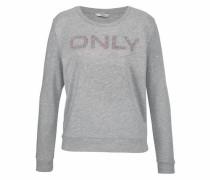 Sweatshirt 'helene' graumeliert