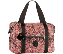Travel Art Weekender orange / schwarz