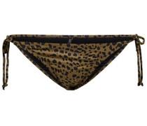 Bikini-Höschen Detailreiches braun