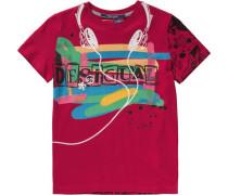 Shirt für Jungen mischfarben / rot / rubinrot / schwarz