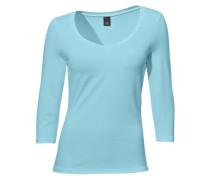 Herz-Shirt blau