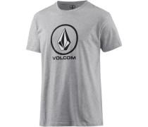 'Circlestone' T-Shirt Herren grau
