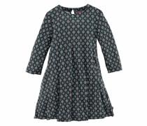 Kleid mit Alloverdruck grau