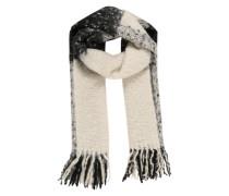 Langer warmer Schal 'Pcjoo' naturweiß