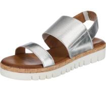 Sandaletten silber