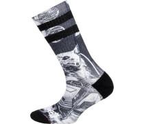ein Paar Socken grau / schwarz