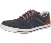 Sneakers marine / karamell