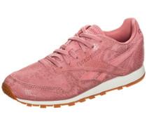 Classic Leather Clean Exotics Sneaker Damen pink / rosé
