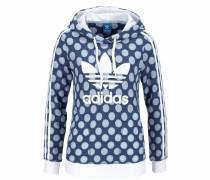 Sweatshirt 'slim Hoddie' blau
