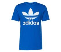 T-Shirt mit Rundhalsausschnitt blau