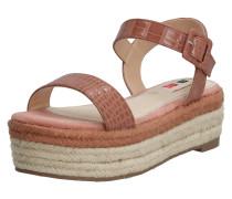 Sandale 'new Tessy' sand / braun