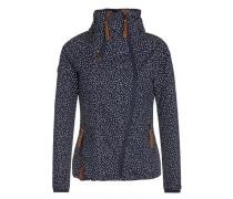 Jacket nachtblau / weiß
