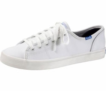Sneaker 'Kickstart Leather Basic' weiß