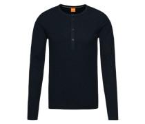 Langarmshirt 'Topsider' blau