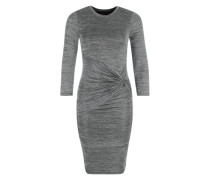 'Jersey knot dress' graumeliert