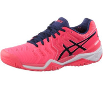 Gel-Resolution 7 Tennisschuhe Damen pink