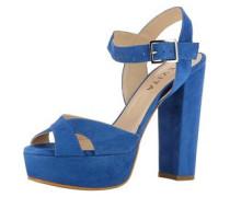 Damen Sandalette blau