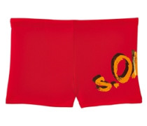 Boxer-Badehose s.Oliver rot
