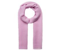 Zarter Schal mit Plissee lila