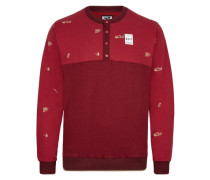 Trouty Crew Sweatshirt rot
