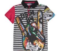 Poloshirt für Jungen schwarz