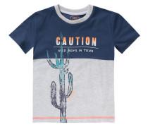 Baby T-Shirt für Jungen blau / türkis / graumeliert / orange / weiß