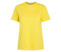 T-Shirt 'awesome girls' limone