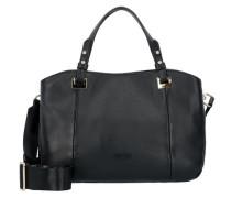 Elisa Handtasche aus Leder 28 cm schwarz
