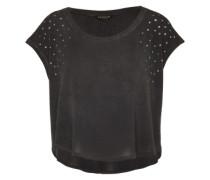 Shirt 'Oily Stars' schwarz