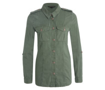 Hemd im Army-Style grün