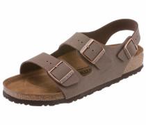 Sandale 'Milano' mokka