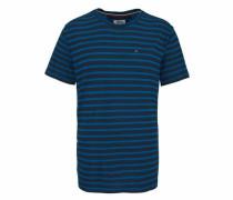T-Shirt 'thdm Basic RLX CN Knit S/S 11' nachtblau / royalblau
