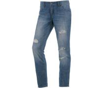 Stoned 7/8-Jeans blau