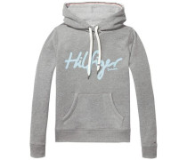 Sweatshirt 'thdw Basic Graphic HD Hknit L/S 12' graumeliert