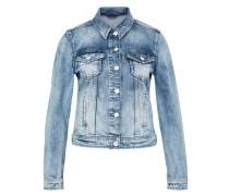 Jeansjacke in heller Waschung blue denim