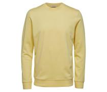 Regular Fit Sweatshirt gelb