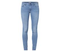Jeans '711 Skinny' blau