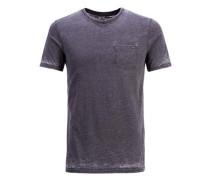 Ausgewaschenes T-Shirt grau