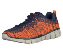 Sneaker navy / orange